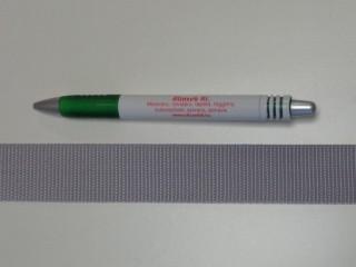 3 cm széles heveder, világos szürke (3109)