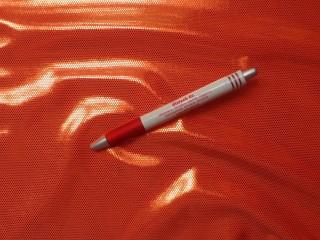 Fürdőruha anyag, fényes, narancs (2612-4)