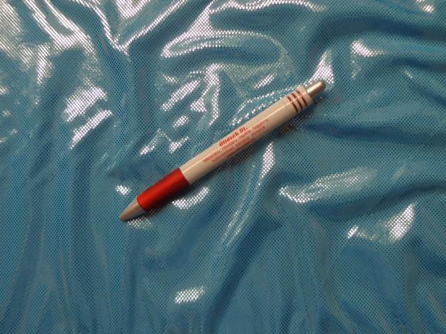 Fürdőruha anyag, fényes, türkiz (2612-5)