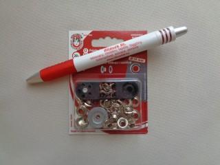 Ringli, 5,5 mm-es, ezüst (3199)