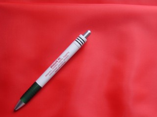 Poliészter bélésselyem, piros (3251)