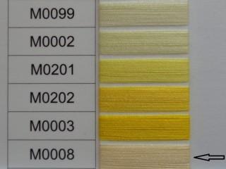 Moon cérna, sárga, 1000 y, 120-as vastagságú nagyker áron (2733-008)