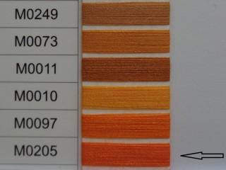 Moon cérna, narancs, 1000y, 120-as vastagságú nagyker áron (3381-205)