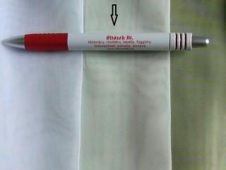 1,8 m magas fényáteresztő voile függöny, ecrü (2592-1)