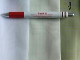 1,8 m magas fényáteresztő voile függöny, lime (2592-2)
