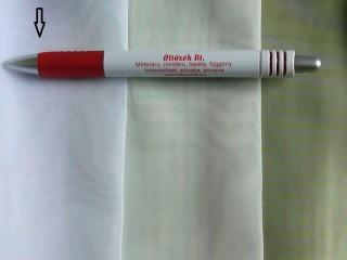 3 m magas egyszínű voile fényáteresztő függöny, fehér (3457)