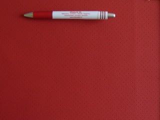 Lyukacsos, textilbőr autótetőkárpit anyag, piros (3492)