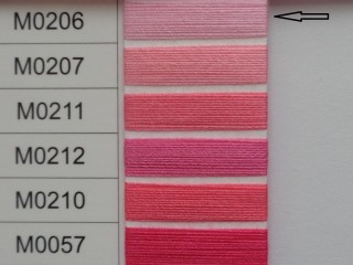 Moon cérna, rózsaszín, 1000y, 120-as vastagságú nagyker áron (3498-206)