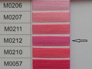 Moon cérna, rózsaszín, 1000y, 120-as vastagságú nagyker áron (3499-212)