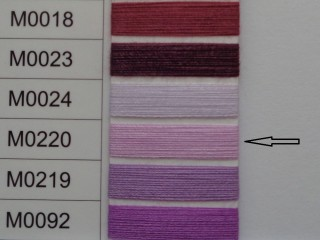 Moon cérna, rózsaszín, 1000y, 120-as vastagságú nagyker áron (3507-220)