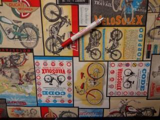 Loneta, bicajos-motoros kerti bútor vászon (3537)