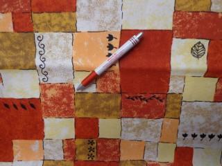 Loneta, terra kockás kerti bútor vászon (3548)