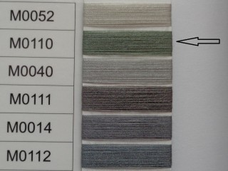 Moon cérna, zöld, 1000y, 120-as vastagságú nagyker áron (3712-110)