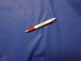 Mintás pamutvászon, kék alapon fehér tűpöttyös (3860)