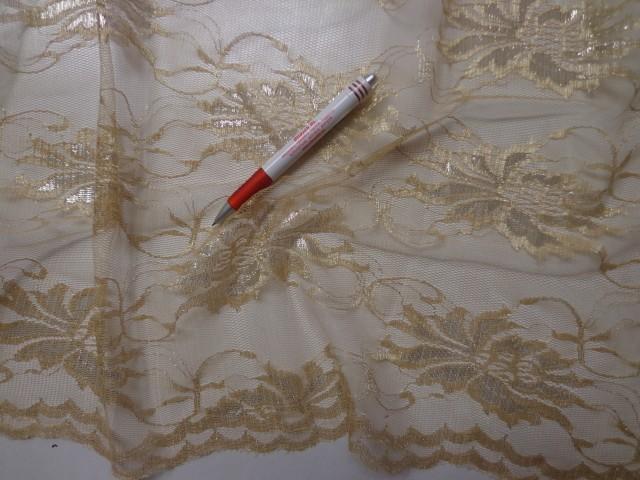 5ee3a88398 Rugalmas csipke, slingelt arany (3953) - A textíliák világában 36 év ...