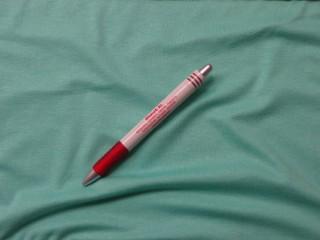 Rugalmas viszkóz jersey, türkiz zöld, 180 cm széles (3980)