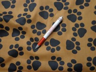 Loneta, fekete tappancsos kerti bútor vászon (2968-2)