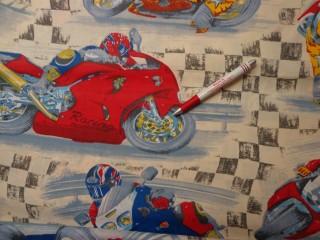 Gyerekmintás vászon, motoros (4137)