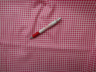 Mintás vászon, pink kockás (4187)