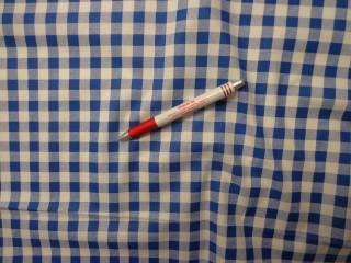 Mintás karton, kék kockás (4188)