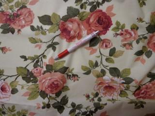 Mintás karton, vaj alapon terra rózsás (4225)