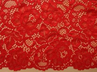 Rugalmas csipke, slingelt piros (10363)