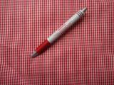 Mintás karton, piros-fehér aprókockás (4353)