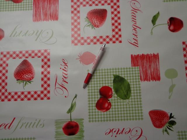 Viaszos vászon, cseresznyés-epres (4451)