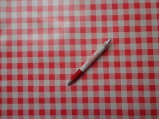 Viaszos vászon, piros-fehér kiskockás (4461)