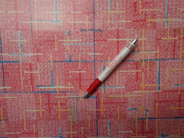 Viaszos vászon, piros alapon kék-sárga vonal (4463)