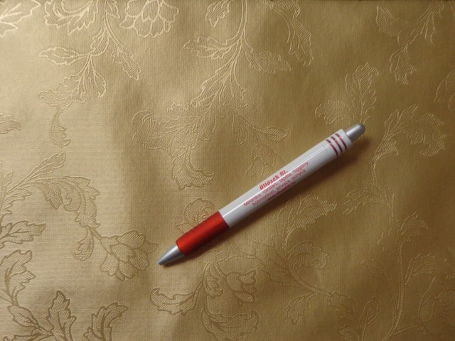 Viaszos vászon, damaszt hatású aranyszínű (4483)