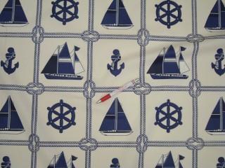 Vízlepergető kerti bútor vászon, hajós (4554)