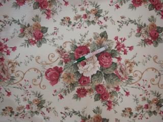 Vízlepergető kerti bútor vászon, mintás (4557)