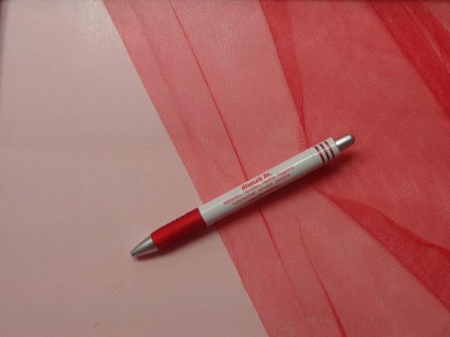 Fátyol tüll, piros (4630)
