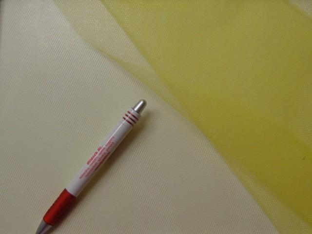 Tüll, sárga (4644)