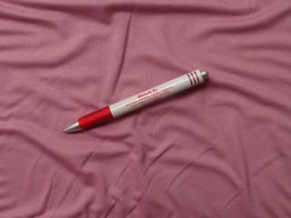 Rugalmas viszkóz jersey, málna fagyi, 180 cm széles (4994)