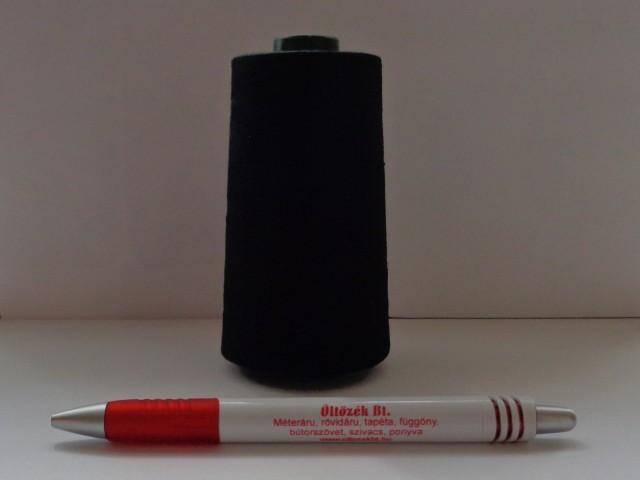 5000 m-es cérna, fekete, 120-as vastagságú (5093)