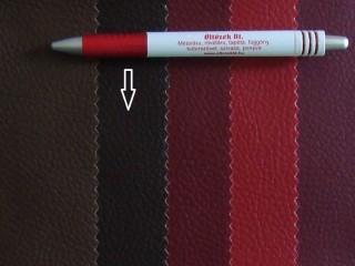 Sötétbarna, egyszínű textilbőr (5164)