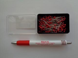 Pirosfejű gombostű  (5209-2)