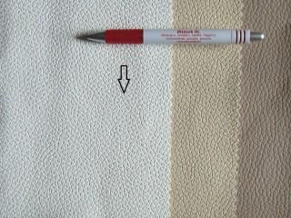 Fehér, egyszínű textilbőr (5278)