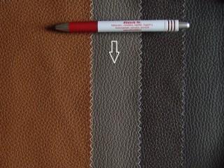 Szürkés-barna, egyszínű textilbőr (5282)
