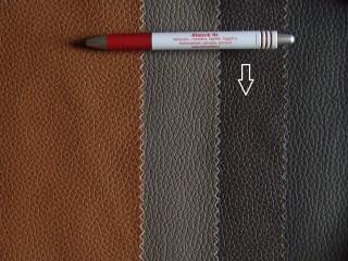Sötétbarna, egyszínű textilbőr (5283)