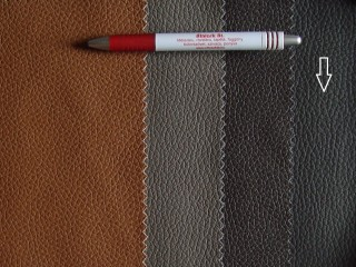 Étcsokoládé barna, egyszínű textilbőr (5284)