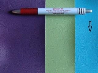 Türkizkék, egyszínű textilbőr (5317)