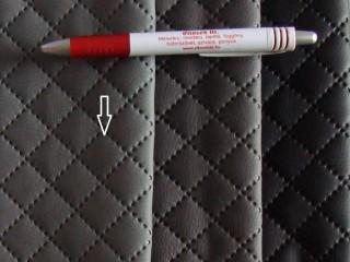 Közép szürke, magában nyomott mintás textilbőr (5468)