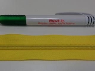 RT-10-es végtelen cipzár, citromsárga (5566)