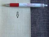 Beige magában mintás, textilbőr (5567)