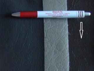 Sötétbarna, egyszínű textilbőr (5590)