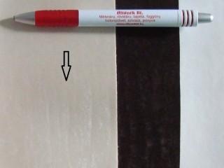 Ekrü, magában mintás textilbőr (5591)