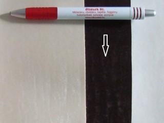 Sötétbarna, magában mintás textilbőr (5592)